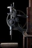古色古香的立式钻床 库存图片