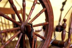 古色古香的纺丝机 库存照片