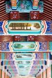 古色古香的结构中国人详细资料 免版税库存照片