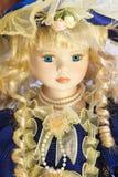 古色古香的美丽的玩偶 免版税库存图片
