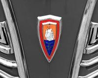 古色古香的美国汽车前面 免版税图库摄影