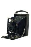 古色古香的老照片照相机。 免版税库存图片