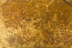 古色古香的老皮革背景纹理 免版税图库摄影