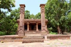 古色古香的耆那教的寺庙 免版税库存图片