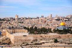 古色古香的耶路撒冷 库存图片