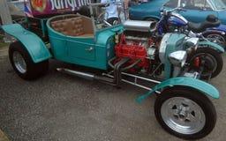 古色古香的肌肉车展伊莎贝拉岛Puerto 库存图片