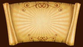 古色古香的背景老纸纹理 库存照片