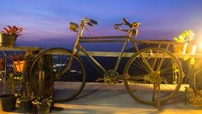 古色古香的自行车 库存图片