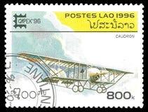 古色古香的航空器 免版税库存图片