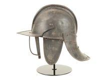 古色古香的英国内战期间Lobstertail盔甲 免版税库存照片