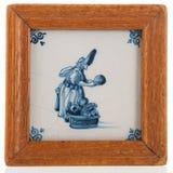 古色古香的荷兰瓦片 免版税库存照片
