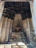 古色古香的菩萨雕象阿尤特拉利夫雷斯 免版税库存照片