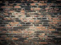 古色古香的葡萄酒砖墙 库存照片