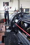 古色古香的蒸汽引擎 免版税库存照片