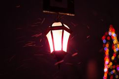 古色古香的街灯 免版税库存图片