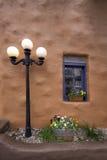 古色古香的街灯 图库摄影