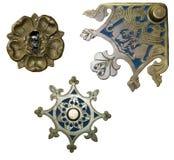 古色古香的装饰金属 免版税库存图片