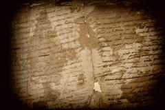 古色古香的西班牙文本 库存照片