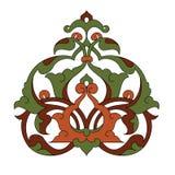 古色古香的设计例证无背长椅 免版税库存照片