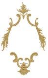 古色古香的设计框架 免版税库存照片
