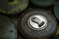 古色古香的评定磁带 免版税库存图片