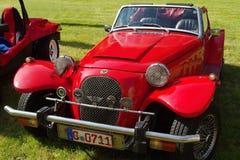古色古香的车的豹 免版税库存照片