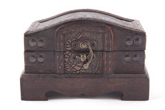 古色古香的配件箱衣物柜 库存图片