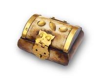 古色古香的配件箱 库存图片