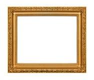 古色古香的金框架 库存图片