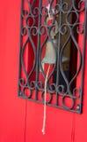 古色古香的铁响铃 免版税库存照片