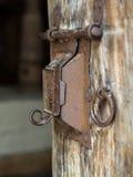 古色古香的门、匙孔和把柄- 3 免版税库存图片