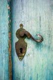 古色古香的门把 免版税图库摄影