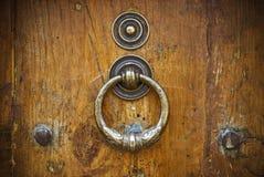 古色古香的门木头 图库摄影