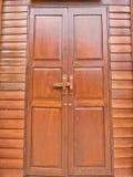 古色古香的门 免版税库存照片