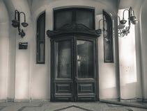 古色古香的门 免版税图库摄影