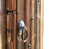 古色古香的门 免版税库存图片