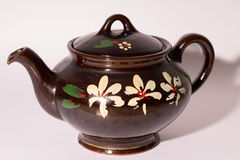 古色古香的陶瓷瓦器 图库摄影