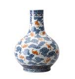 古色古香的陶瓷花瓶 免版税库存照片