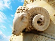 古色古香的雕象 库存照片