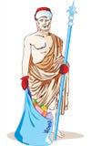 古色古香的雕象 免版税库存图片
