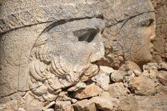 古色古香的顶头雕象 免版税库存图片
