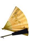 古色古香的风扇 图库摄影