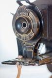 古色古香的风箱式照相机没有2C 库存照片