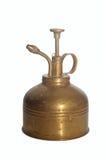 古色古香的黄铜喷雾器 图库摄影