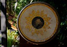古色古香的鼓 免版税库存照片