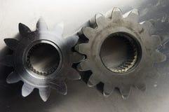 古色古香的齿轮查找轮子 免版税库存照片