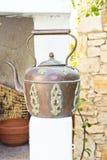 古色古香的水壶 库存照片