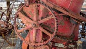 古色古香的水泥搅拌车 库存照片