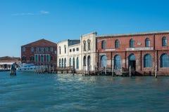 古色古香的玻璃制造业murano威尼斯威尼托意大利欧洲 免版税库存照片