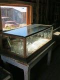 古色古香的玻璃器皿 免版税库存图片